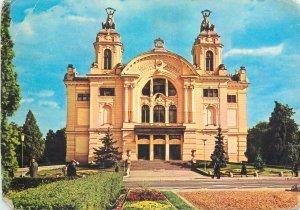 Romania Cluj-Napoca Teatrul National Postcard