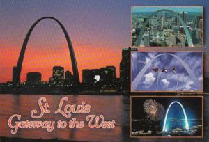 Missouri St Louis Gateway Arch Multi View 1999