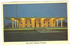 Exterior, City Hall, Paducah, Kentucky,  40-60s