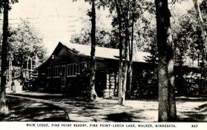 MN - Walker. Pine Point Resort on Leech Lake