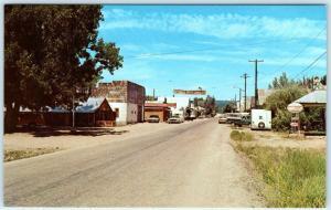 IDAHO CITY, ID  Early Mining Town  MAIN STREET Scene  ca 1960s-70s   Postcard