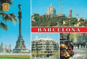 Spain Barcelona Multi View