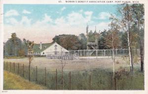 PORT HURON, Michigan, PU-1926; Woman's Benefit Association Camp