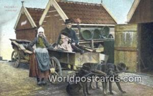 Volendam Netherlands, Nederland Hondenkar  Hondenkar