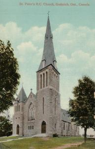 GODERICH , Ontario , 1900-10s ; St Peter's R.C. Church