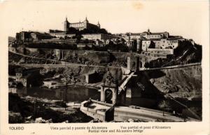 CPA Toledo Vista parcial y puente de Alcantara SPAIN (743846)