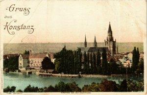 CPA AK Gruss aus Konstanz GERMANY (893709)