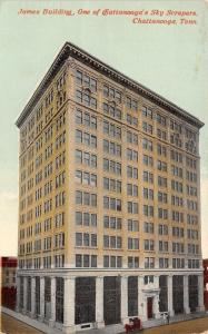 Chattanooga Tennessee~James Building~12 Story Skyscraper~Broad Street~1907 PC