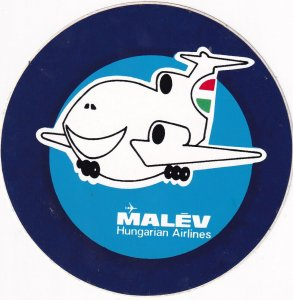 MALEV Hungarian Airlines,1970s