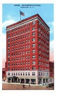 New York Syracuse Hotel Jefferson Clinton