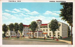 Yreka Inn, Yreka, California, Early Postcard, Unused