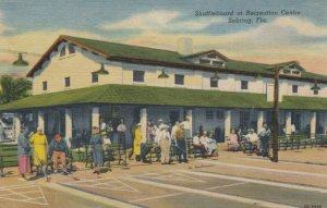 SEBRING, Florida, 1930-40s; Shuffleboard at Recreation Centre