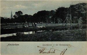 CPA Amsterdam. Sportterrein in het Vodelpark. NETHERLANDS (624188)