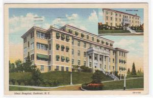 Ideal Hospital Endicott New York 1941 postcard