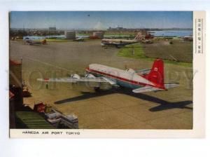 172430 JAPAN TOKYO HANEDA airport Vintage photo postcard