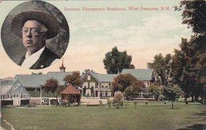 New Hampshire West Swanzey Denman Thompsons Residence 1909