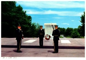 1970's Tomb Of The Unknowns Washington D.C. PC1990 Scalloped Edges
