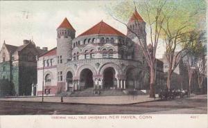 Connecticut New Haven Osborne Hall Yale University 1908