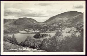 cumbria, GRASMERE, Panorama from Red Bank (1950s) RPPC