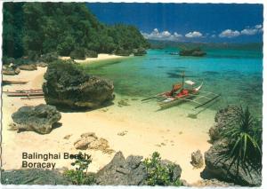 Philippines, Balinghai Beach, Boracay, unused Postcard