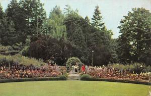 USA The Butchart Gardens Victoria Promenade Jardins