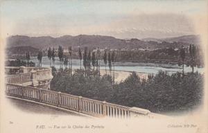 PAU, Vue sur la Chaine des Pyrenees-Atlantiques, France, 00-10s