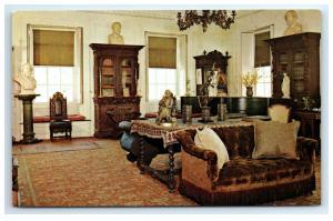 Postcard Library, Longfellow House, Cambridge, MA C28
