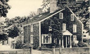 Hingham, Massachusetts/Mass/MA Postcard, Historical Society/Old Ordinary