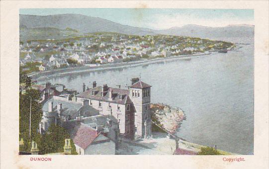 Bird's Eye View, Dunoon, Argyll, Scotland, UK, 1910-1920s