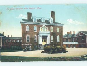 Divided-Back HOSPITAL SCENE New Bedford Massachusetts MA W3289