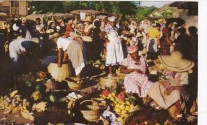 Jamaica Market Scene
