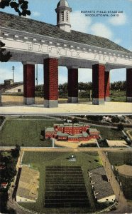 LPS19 MIDDLETOWN Ohio Barnitz Field Stadium Postcard