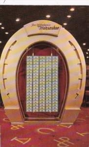 Nevada Las Vegas Joe W Brown's  Horseshoe Club One Million Dollar Display