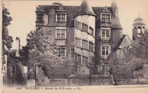 POITIERS, Maisons du XVI siccle, Vienne, France, 00-10s
