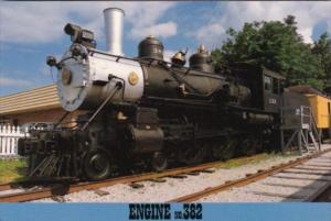 Locomotive No 382 Casey Jones Village Jackson Tennessee