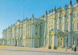 Russia Leningrad The Winter Palace