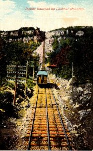 Tennessee Chattanooga Incline Railroad Up Lookout Mountain