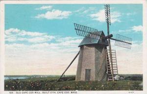 Massachusetts Cape Cod Old Cape Cod Mill Built 1774 1930