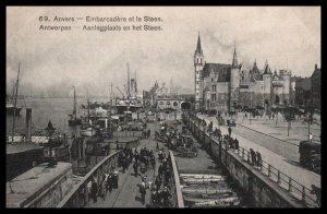 Embarcadere et le Steen,Antwerp,Belgium BIN