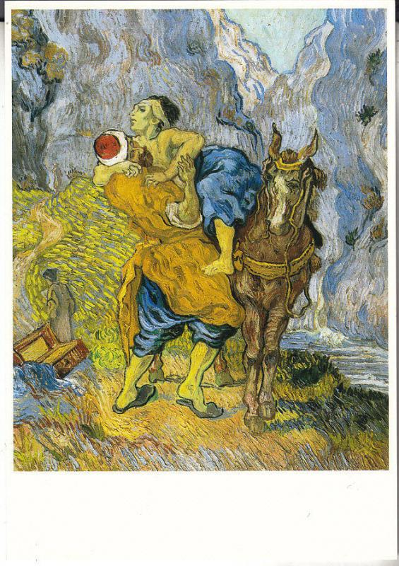 The Good Samaritan (After Delacroix) by Vincent Van Gogh