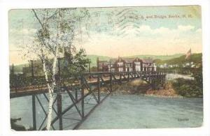Y.M.C.A. and Bridge, Berling, New Hampshire, 1920