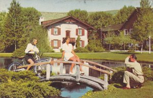 Summer At SUN VALLEY, Beautiful Landscaped Grounds, Idaho, 1940-1960s