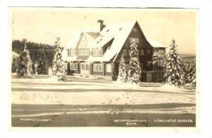 RP; Naturfreundehaus - Konigshohe Jsergeb, Czech Republic, PU-1925