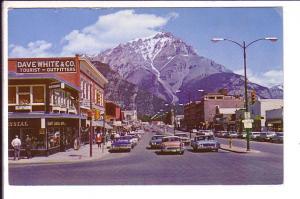Banff Avenue, Banff, Alberta Used Golden B.C. Cancel