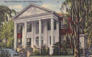 Florida Tallahassee Home Of Tallahassee Girl