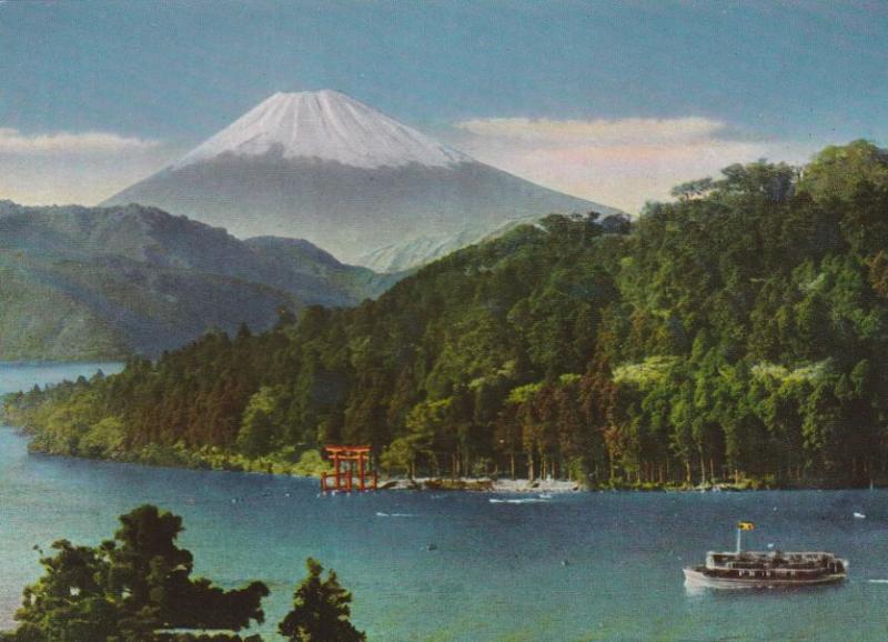 Mount Fuji, Japan - Lake Ashi-No-Ko