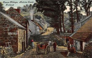 Ireland Glenoe Village, Antrim Coast  Glenoe Village, Antrim Coast