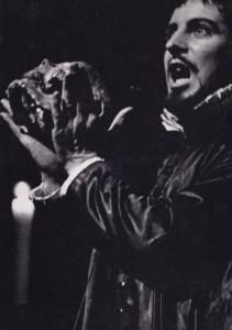 Ian Richardson as Vendice Royal Shakespeare Company Theatre Postcard