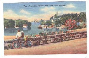 Boats, View Of Hamilton Harbour From Crow Lane, Bermuda, 1930-1940s