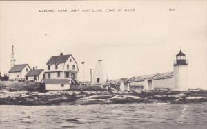 PORT CLYDE, Maine, 1900-1910's; Marshall Point Light